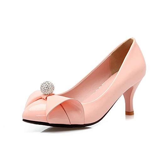 Rose 1TO9 Sandales 5 36 Femme Inconnu MMS06316 Compensées Rose q1XSXpw