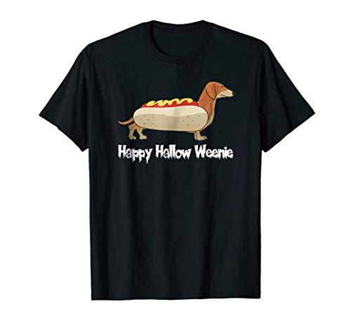 Happy Hallow Weenie Dachshund Hot Dog