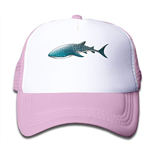 F.T.S. Kid's Whale Shark Trucker Baseball Cap Adjustable Mesh Hat Girl Boy