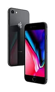 Apple iPhone 8 Space Grey 64GB SIM-Free Smartphone Premium Pack (Renewed)