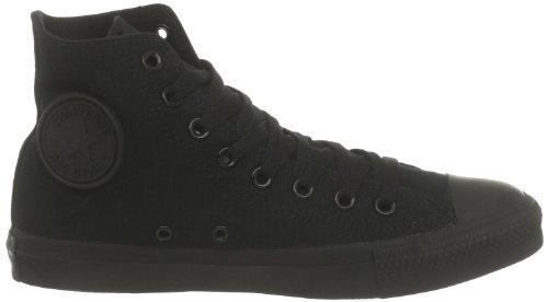 Converse Femmes Chuck Taylor Tout Étoiles Haut Top Sneakers - Noir Monochrome - 8