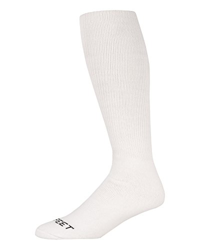 (Pro Feet Multi-Sport Cushioned Acrylic Tube Socks, White, Small/Size 7-9)