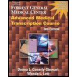 Forrest General Medical Center Advanced Medical Transcription Course (3rd, 04) by [Paperback (2003)]