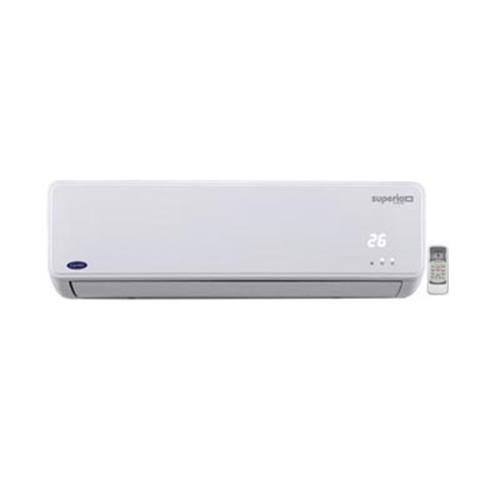 Carrier Superia Plus Inverter Split AC (1 Ton, White, Copper)