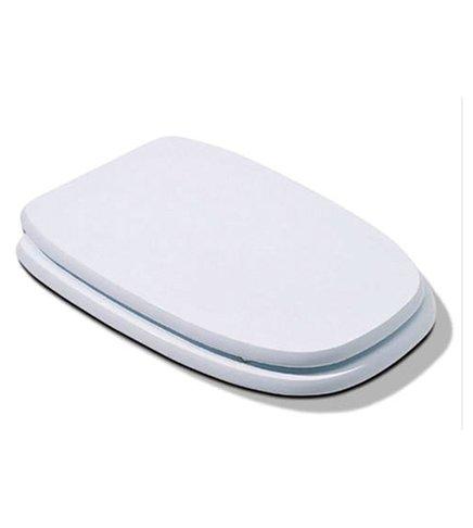 Coprivaso copriwater sedile legno in mdf, compatibile Square Pozzi Ginori, bianco Arredobagnoecucine