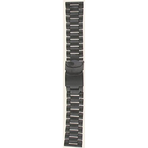 Luminox WatchBand For: 8400;3152;3182 Series. Black PVD Steel Bracelet.23mm (Pvd Luminox)