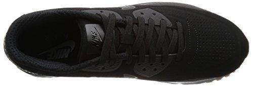 Nike Air Max 90 Ultra Moire Scarpe da Corsa, Uomo Nero / Bianco (Nero / Nero-bianco)
