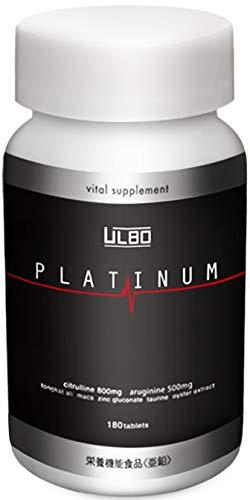ULBO PLATINUM 시트룰린 아르기닌 아연 엄선 8성분 배합 180정