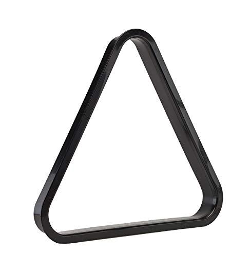 (Pro Series A284 Commercial Black Plastic Billiard Ball Rack, 9-Ball Diamond)