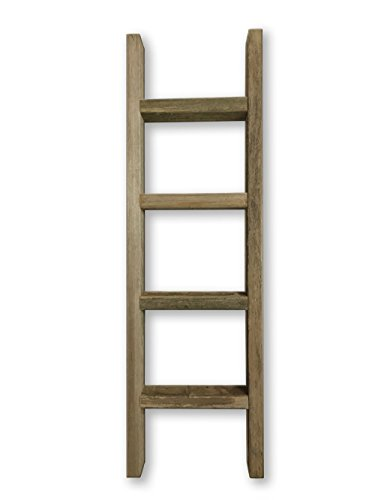 Old Farmhouse Decorative Wood Ladder