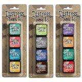 Ranger Tim Holtz Distress Mini Ink Pad Kits - #13, #14 and #15 Bundle