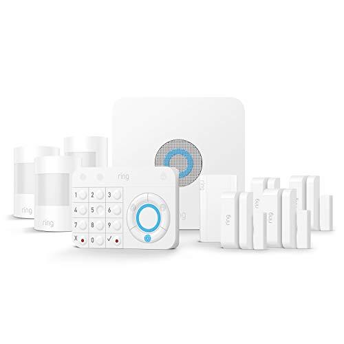 Ring Alarm 10 Piece Kit von Amazon – Heimsicherheitssystem mit optionaler unterstützter Überwachung – ohne langfristige Verpflichtungen – funktioniert mit Alexa