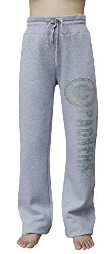 LockQ Womens Sporty Football Packers Rhinestone Pants - ()