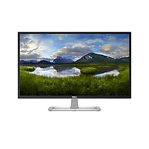 """Dell D Series LED-Lit Monitor 31.5"""" White D3218HN, FHD 1920x1080, 16:9, IPS LED Back-lit, HDMI, VGA, VESA 9"""