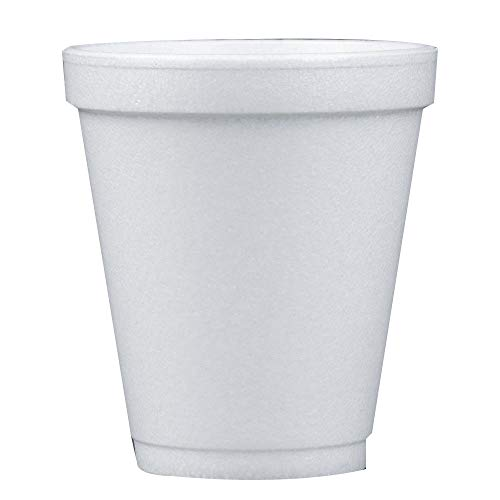 - Dart 8 Oz White Disposable Coffee Foam Cups Hot and Cold Drink Cup (Pack of 102)