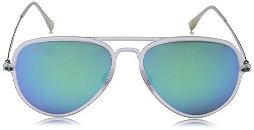 Trasparent Lunettes de Matte Ray Trasparent RB4211 soleil Homme Ban Grey Pour Green Matte Greenmirror Matte Black 7wqqEOS5R