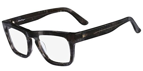 Salvatore Ferragamo - SF 2726, Wayfarer, acetate, men, GREY HORN (031 ), - Reading Ferragamo Glasses