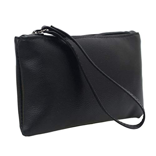 Kanpola Daily Women Handbag Handbag Quality Use Wallet Purse Black Clutches Fashion Black Clutch rfTr5qw1