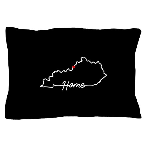 CafePress Kentucky Home Louisville Standard Size Pillow Case, 20