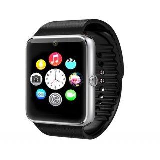 Montre téléphone connectée débloqué Bluetooth 3.0 avec support carte Sim - Compatible Apple et Android-