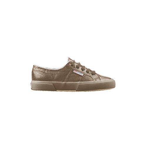Superga 2750- LAMEBINW S0041Z0 - Zapatillas fashion de tela para mujer Full Dk Brown