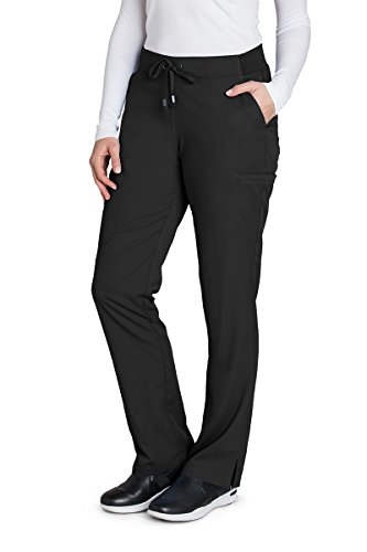 Grey's Anatomy 4277 Straight Leg Pant Black L by Barco