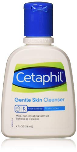 Cetaphil Gentle Skin Cleanser For All Skin Types 4 FL OZ (Pack of 2)