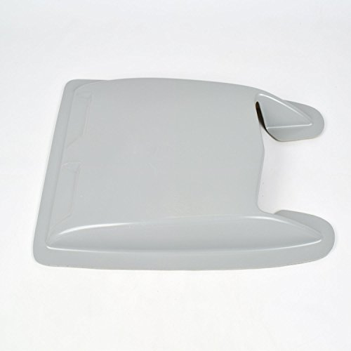 JSP Universal Hood Scoop 20.25 by 11 by 2.25 inch Primed Mini Cobra Jet JSP001