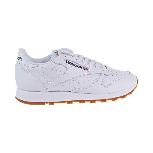Reebok Men's Classic Leather Fashion Sneaker, US-White/Gum, 11.5 M US 49797