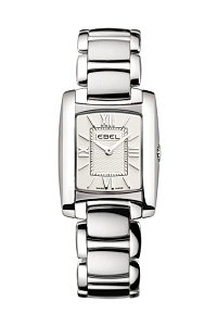 Ebel Brasilia Steel Silver Dial Ladies Watch