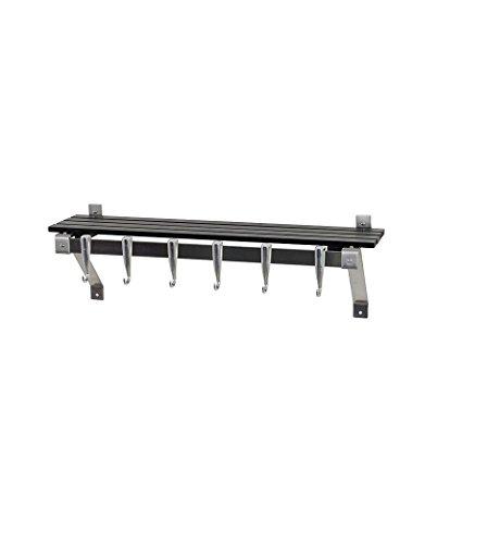 - Concept Housewares PR-40326 Wall Rack, Gray