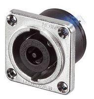 - Neutrik NLT8MP-BAG 8-Pin PNL MT M Black Speak-On