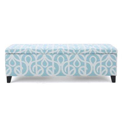 Amazon.com: Upholstered Bedroom Storage Bench Rectangular ...