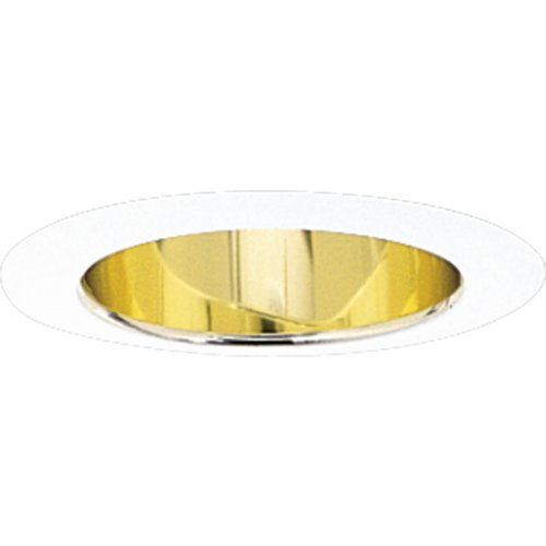Progress Lighting P8172-22A Gold Alzak Finish 5-Inch Deep Cone, Gold Alzak