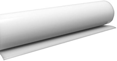 timalo Küchenfolie Hochglanz Weiß, Möbelfolie, Klebefolie für Möbel, Türen  Selbstklebende Folie Küche, Meterware (10 Meter x 0.63 Meter)
