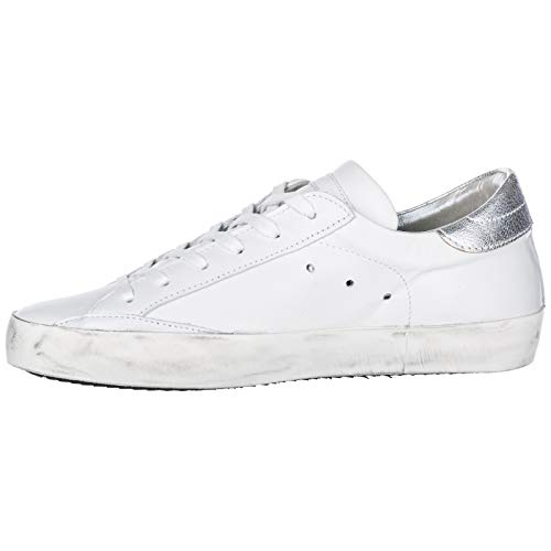 Donna Bianco Sneakers Model Philippe Paris xqptqF