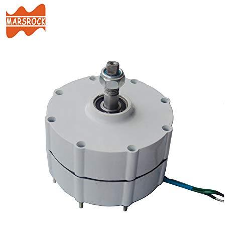 Marsrock 600r/m 600W 12V or 24V Permanent Magnet Generator AC Alternator for Vertical or Horizontal Wind Turbine 600W Wind Generator (24V) by Marsrock