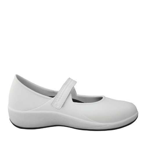 DAWGS Jane White Work Women's Mary Resistant Black Pro Slip HqzSOHw