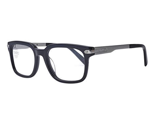 Vuarnet VL140500010622 Clip-On Sunglasses Black Silver Frame PolarLynx Polarized Grey Glass ()
