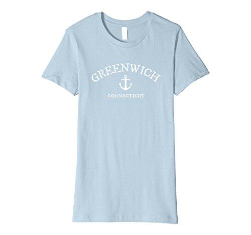 Womens Greenwich Connecticut T-Shirt, CT Sea Town Shirt Small Baby - Greenwich Shops Ct
