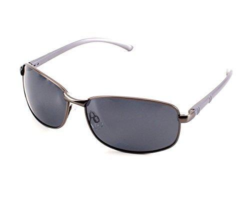 Herren Alu Sonnenbrille Polarisierend Piloten Matrix Fram Aviator New Wayfahrer
