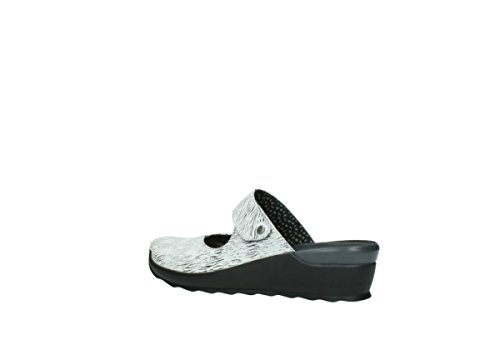 Il Canale Nero Bianca Comfort 70110 Pelle Intasa Wolky wBrYOw