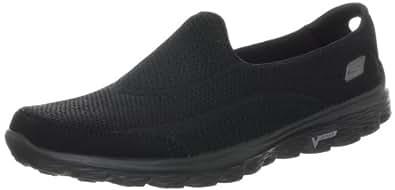 Skechers Performance Women's Go Walk 2 Slip-On Walking Shoe,Black,5 M US