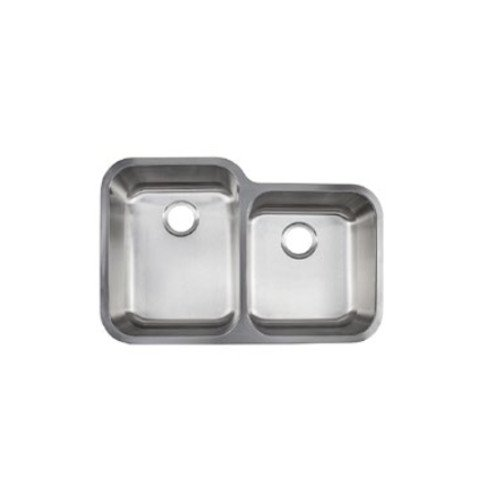 Kindred reginox undermount 18 gauge double bowl kitchen sink the kindred evgc900 18 sink is a 18 gauge stainless steel double bowl sink with workwithnaturefo