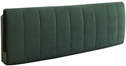 ソフトピローベッド、ダブルピロー、ホームオフィス用ベッドサイズ、洗える夜のベッドカバー、2色、5サイズ(色:緑、サイズ:100 * 58 cm)