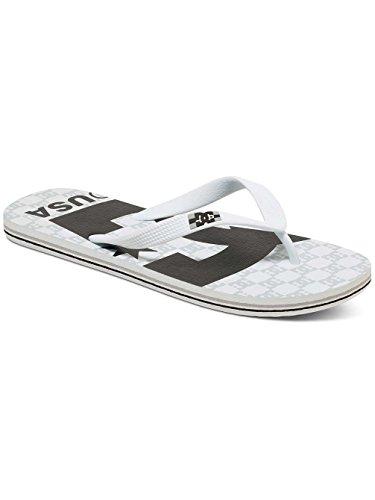 DC Shoes SPRAY GRAFFIK D0303276 Herren Zehentrenner White Black White