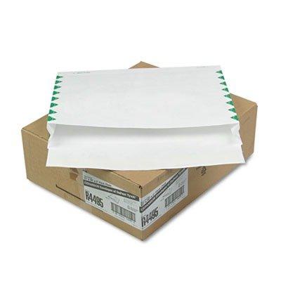 Quality Park R4495 Quality Park Tyvek Open Side 2'' Exp Envelope, 1st Class,12x16x2, White,100/Ctn