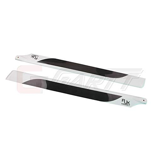 - Parts & Accessories Ytn Rjx Carbon Fiber Main Blades (690Mm) For 700 Rc Helicopter