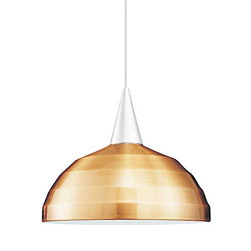 WAC Lighting PLD-F4-404CO/WT Felis 1 Light Canopy Pendant, Halogen Lamp, Copper Bronze/White ()