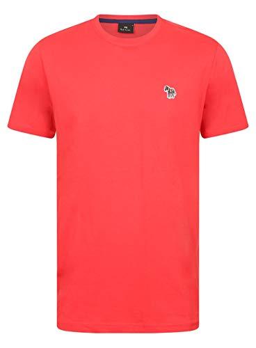 Paul Smith Zebra Badge T-Shirt in Raspberry Red Small